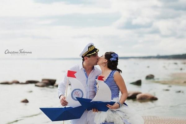 фотосессия в морском стиле