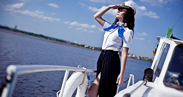морской стиль фотосессия