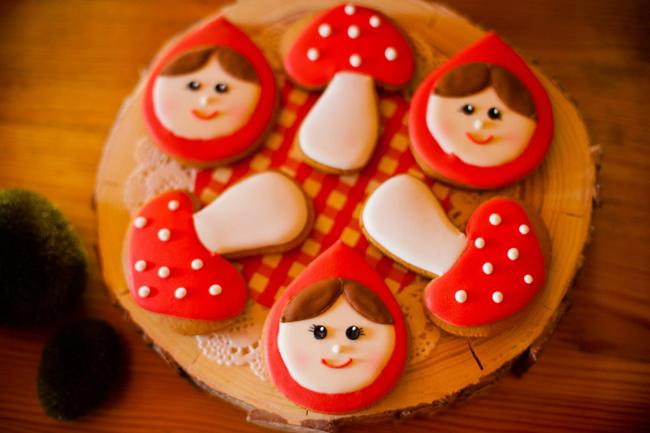 3-й День рождения в стиле Красной Шапочки