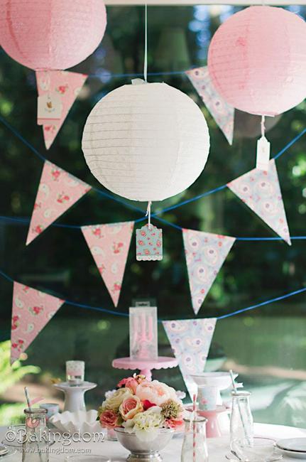оформление детского дня рождения дома