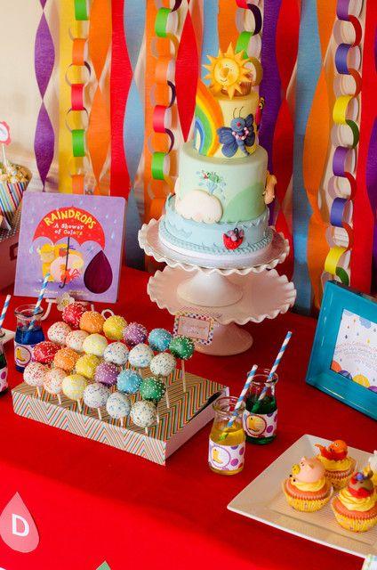 украшение стола детский день рождения