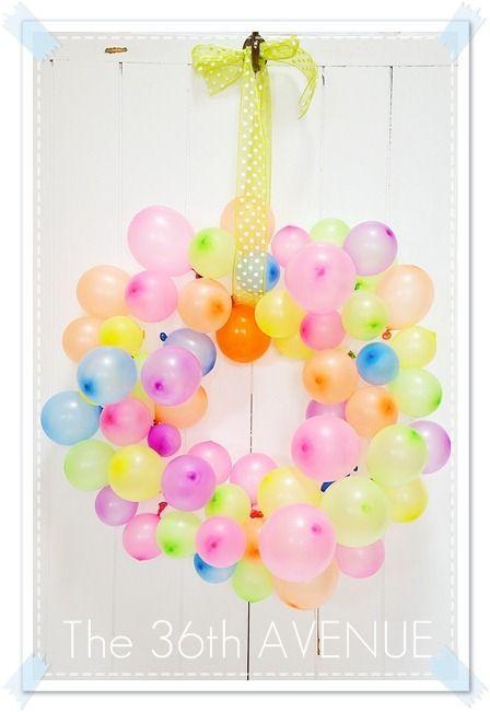 идеи оформления детского дня рождения