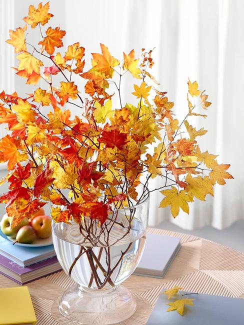 Осенний декор стола