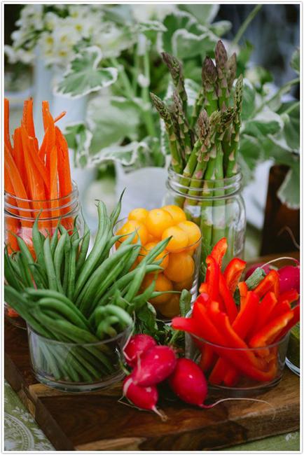 как сделать красивую овощную нарезку