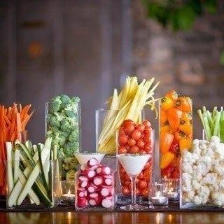как сделать овощную нарезку