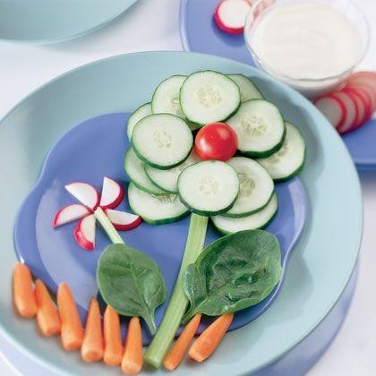 как разложить овощную нарезку