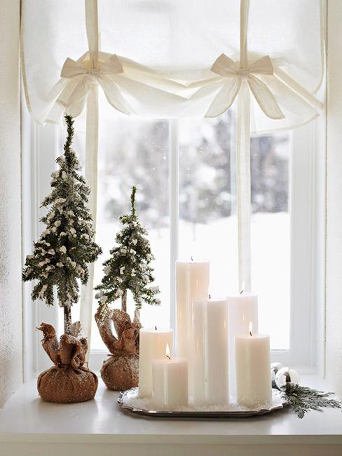 Новогодний декор в стиле рустик