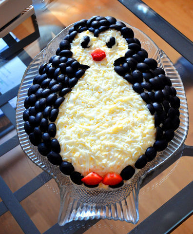 """Салат """"Пингвин"""""""