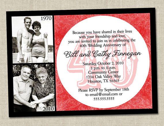 40 годовщина свадьбы