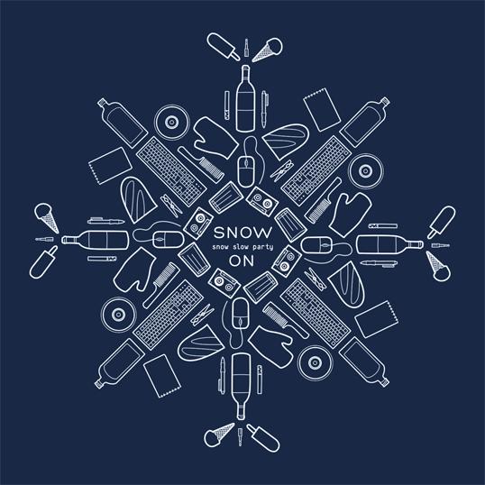 снежная вечеринка