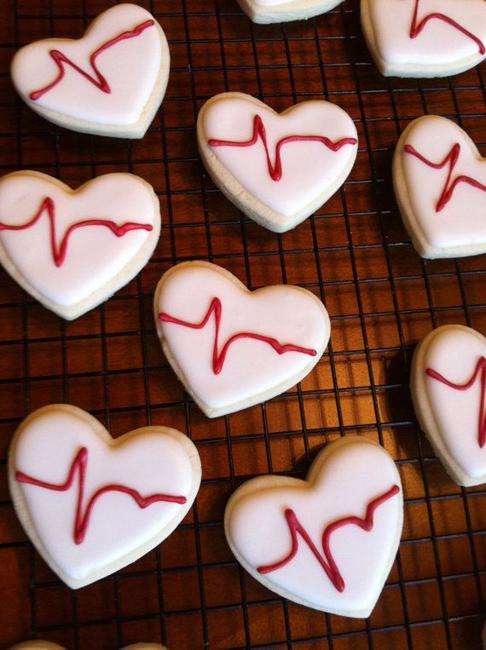 Печенье ко Дню Святого Валентина