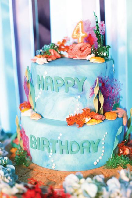 Детский День рождения в стиле Русалочки