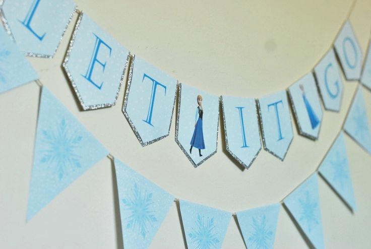"""Шаблоны фотобутафории и декора для праздника в стиле """"Холодное сердце"""""""