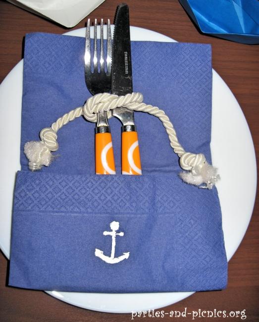 5 простых идей для декора праздника в морском стиле