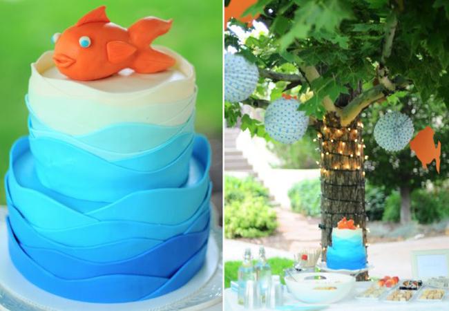 Детский День рождения в стиле Золотой рыбки