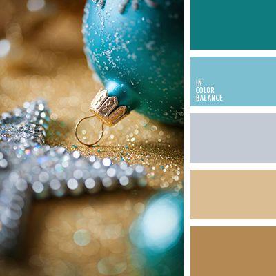 Новогодние цветовые палитры