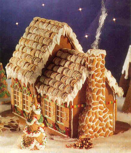 Идеи для рождественских пряничных домиков