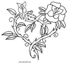 Валентинки-раскраски