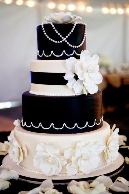 Черно-белые торты