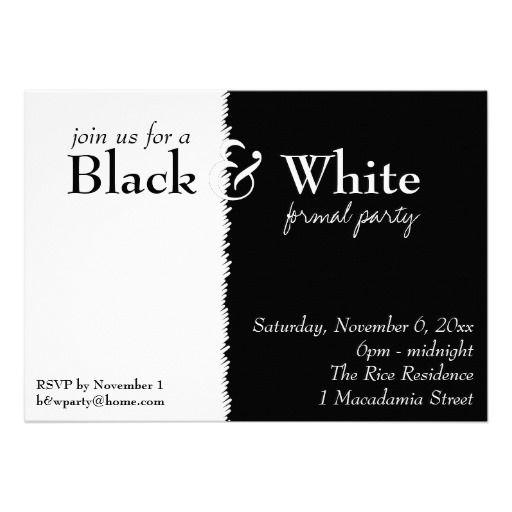 Черно-белая вечеринка (Black and White Party)