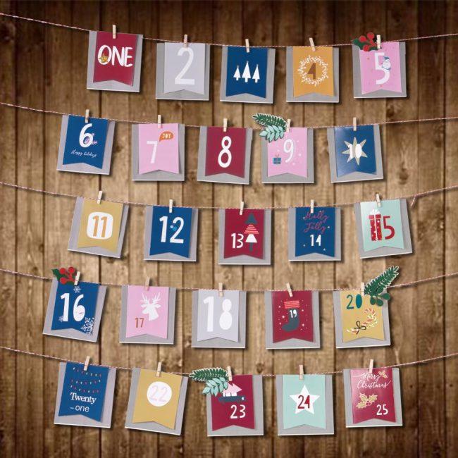 адвент-календарь конвертики