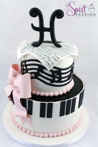 Музыкальные торты